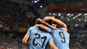 Uruguay eliminó a Portugal y se clasificó a los cuartos de final