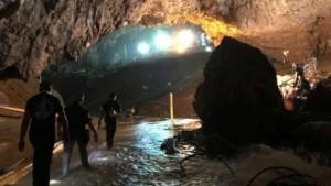 Ya rescataron a todos los niños de la cueva de Tailandia